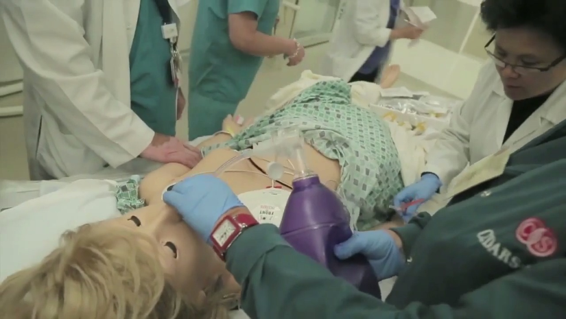 Video for the Women's Guild Simulation Center for Advanced Clinical Skills at Cedars-Sinai
